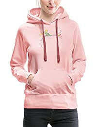 Spreadshirt Little Prince Looks At Sunset Women's Premium Hoodie