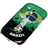 deinPhone AR-230193 Coque rigide de protection pour Samsung Galaxy S3 Mini Motif Christ rédempteur Coupe du Monde Brésil