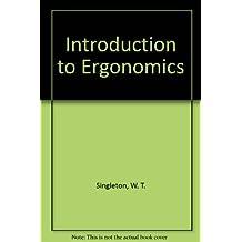 Introduction to Ergonomics