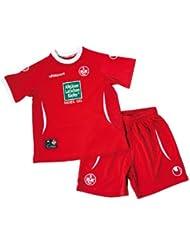Uhlsport FCK 1.FC Kaiserslautern Home Mini-Kit 2012-13 Rot, grössen:Gr. 92 / 98