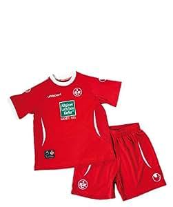 Uhlsport fCK 1.fC kaiserslautern domicile mini kit 2012–2013 tailles :  rouge-taille 98/92