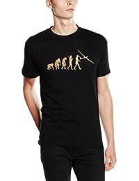 Shirtzshop Bronze Edition Segelflieger Segelfliegen Flugzeug Segelflugzeug Evolution T-Shirt