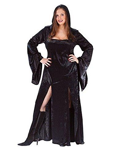 Magierin-Hexen-Vampir Kostüm- Damen Größe (Size Plus Vampir Kostüme)