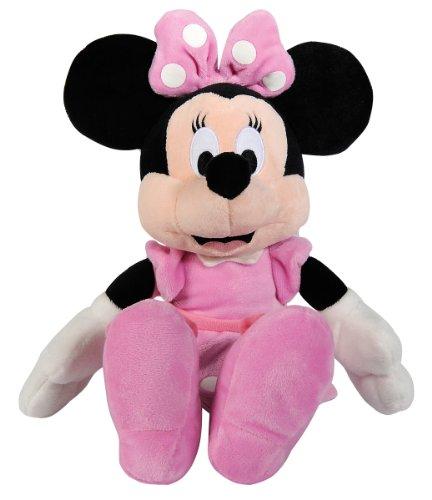 Simba 6315872637 - Disney Plüsch Minnie Maus 25 cm (Mickey Mouse Tisch-set)