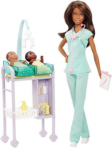 Barbie DVG12 Kinderärztin Puppe (brünett) und ()