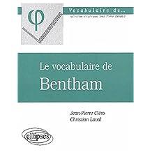Le vocabulaire de Bentham