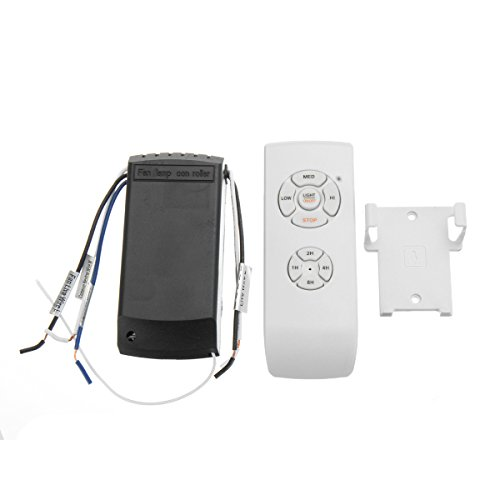 ILS - Remote Controll Switch Lamp Kit and Timing Wireless Remote Control für Ceiling Fan Light Lamp (Wireless Control Kit)