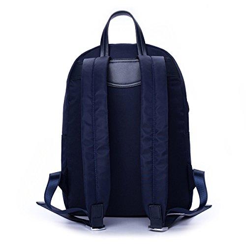 Sacchetto Di Spalla Dello Oxford Dello Zaino Degli Uomini Casuali Maschii Del Sacchetto Di Spalla Del BUKUANG Sacchetto Di Viaggio Di Modo Del Sacchetto Del Calcolatore Di Grande Capacità,Blue Blue