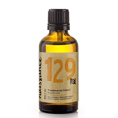 Naissance Weihrauch, Afrikanisch (Boswellia Carteri) 50ml 100% naturreines ätherisches Öl (Basilikum Weihrauch)