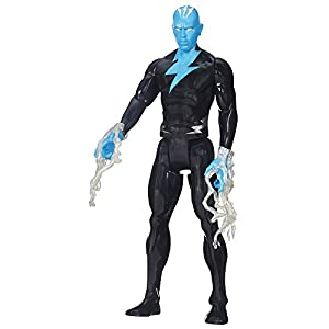 "Spider-Man Marvel Ultimate Titan Hero Series Electro Figure, 12"" 4"