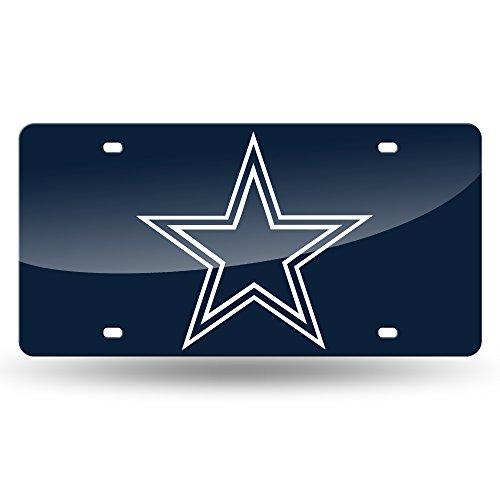 Rico NFL Farblasergeschnittenes Auto Tag, Unisex-Erwachsene, Dallas Cowboys, One Size Fits All