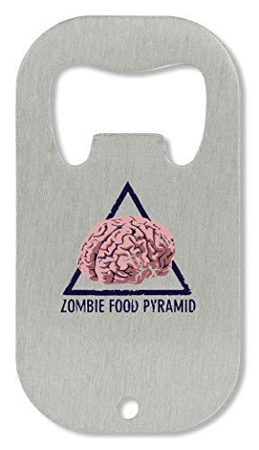 OpenWorld Zombie Food Pyramid Cool Brain Flaschenöffner