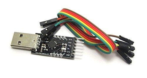 Preisvergleich Produktbild USB zu TTL-Konverter-Modul mit eingebautem in CP2102