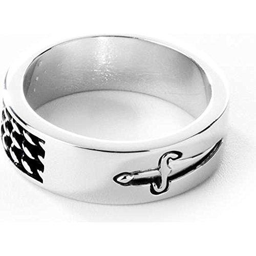 anello uomo gioielli Cesare Paciotti misura 23 offerta trendy cod. JPAN0985B/24