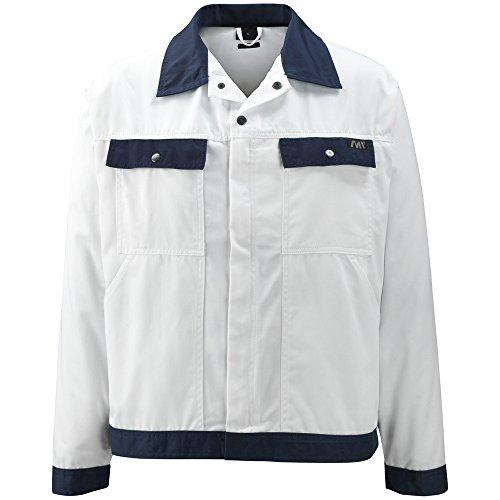 "Preisvergleich Produktbild Macmichael Arbeitsjacke ""Peru"", 1 Stück, 2XL, weiß/marine blau, 04509-800-61-2XL"