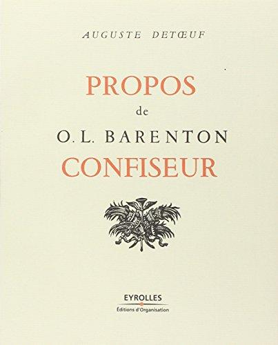 Propos de O. L. Barenton, confiseur par Auguste Detoeuf