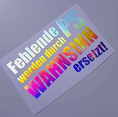 Schönheits Shop Fehlende PS Farbwechsel Hologramm Flip Flop Sticker Auto Aufkleber Shocker Dub Tuning Autoaufkleber Turbo Fun Sticker