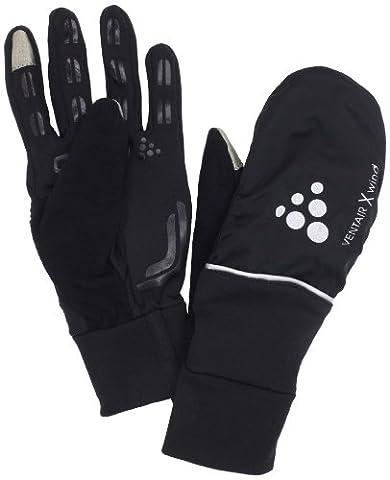Craft Handschuh Hybrid Weather Gloves, Black, 11/XL,