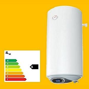 30 50 80 100 120 L Liter 2,0 kW 230 Volt Elektro Warmwasserspeicher Boiler Smart Control wandhängender Boiler (80 Liter kurz)