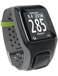 TomTom Multisport - Reloj deportivo GPS (para atletismo, ciclismo y natación), color gris