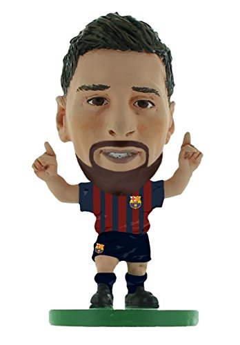 Creative Toys Company - Soccerstarz - Barcelona Lionel Messi with beard- Home Kit (2019 version) /Figures (1 TOYS)