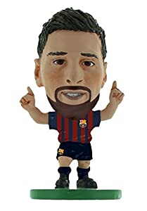 SoccerStarz SOC1059 Barcelona Lionel Messi-Home Kit (2019 Version)/Figuras, Verde