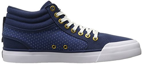 DC Frauen Evan TX SE Skate-Schuhe Blue/Brown/White
