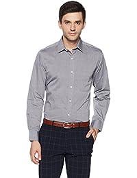 Arrow Men's Plain Regular Fit Cotton Formal Shirt