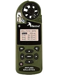 Kestrel 4500 Bluetooth Shooters Wetter Windmesser mit Taschenrechner, die Ballistic-Nylon, Olivgrün/Graubraun