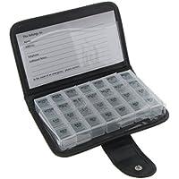 Preisvergleich für SODIAL 7 Tage Tablettenbox Wochen Drug Dose Dispenser 7 Tage Pillenbox 4 Fcher/Tag Tablet Dose Travel Urlaub Pillendose...