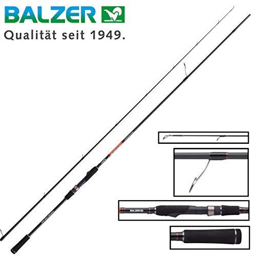 Balzer Shirasu Medium Crank Shad 2,72m 22-53g Spinnrute, Angelrute zum Spinnfischen auf Hechte & Zander, Hechtrute, Zanderrute