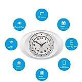 ZMM 1080P WiFi Sicherheitskamera Alarmkamera mit Bewegungsmelder mit Indoor-WiFi Home Security Camera Video-Recorder