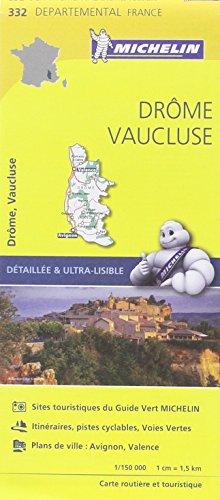 Carte Drôme, Vaucluse Michelin