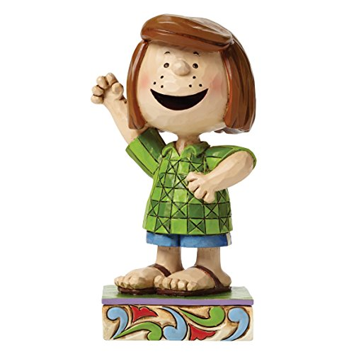 Peanuts Jim Shore Fun Freund Peppermint Patty Figur