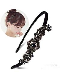 XIAOBAI Simple, dulce, adulto, accesorios para el cabello, diamantes de imitación, vincha, diadema, clip superior, sombrerería, 14#