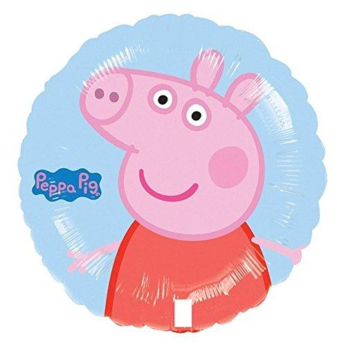 Anagram Peppa Pig Blue Foil Balloon,1 Pc