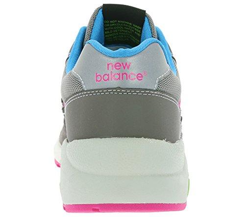 New Balance Mrt580nb, Baskets Mixte Adulte gris/bleu