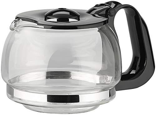 Rosenstein & Söhne Zubehör zu Reise-Kaffeemaschinen: Ersatz-Glaskanne für Kfz-Filterkaffee-Maschine, bis zu 3 Tassen (Kfz-Kaffeemaschine 12V)