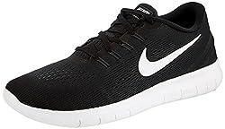 Nike Herren Free RN Laufschuhe Schwarz (black/white-anthracite) 45 EU