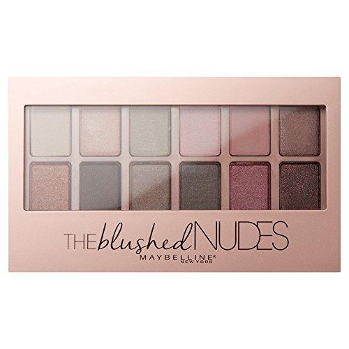 Maybelline Paleta de Sombras de Ojos The Blushed Nudes