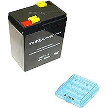 Multipower Piombo Gel Batteria 6V / 5Ah / MP5-6