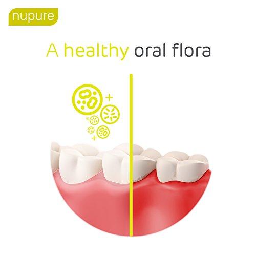 Nupure Probident - Bakterienkulturen für die Mundflora, Lutschtabletten mit Zitronengeschmack, Frischer Atem gegen Mundgeruch. Mundhygiene ohne Mundspülung, Mundwasser, Munddusche und Zungenreiniger - 2