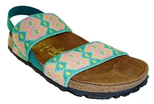 PAPILLIO BIRKENSTOCK 423493 CATERINA SANDALI DONNA scarpe ciabatte Aztec Verde