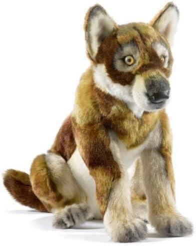 Carnaval Nouvel du Nouvel Carnaval An, bonne offre pour la nouvelle année Peluche loup bébé assis 33 cm 3ca6f4