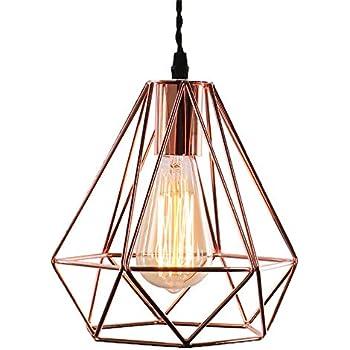 VintageMaxsal Suspension Lustre Plafonnierssans Lampe E27 5qjR34LA