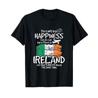 Irland Flaggen T-Shirt Lustiges Irland Shirt Geschenk