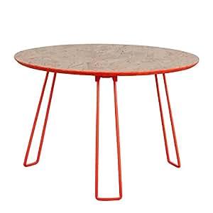 Zuiver Table d'appoint Osb L - Orange fluo