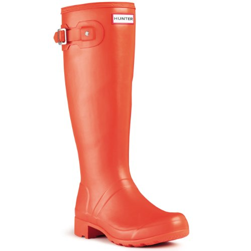 Damen Hunter Original Tour Regen Winter Schnee Gummistiefel Stiefel Clementine