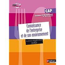 CONNAIS ENTR ENVIRON CAP CUIS/