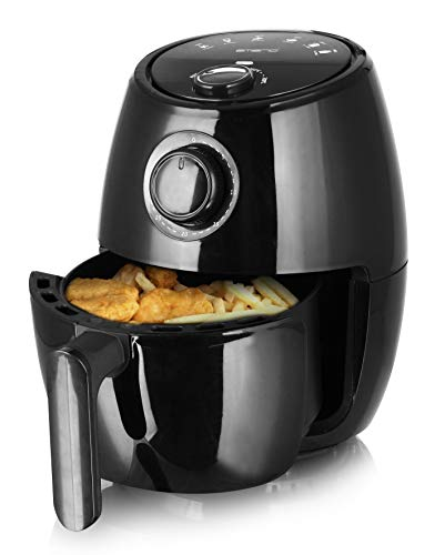 Emerio Heißluftfritteuse, Airfryer, Smart Fryer, Frittieren ohne Öl, 2,0 Liter Volumen, 1000 Watt, AF-122059